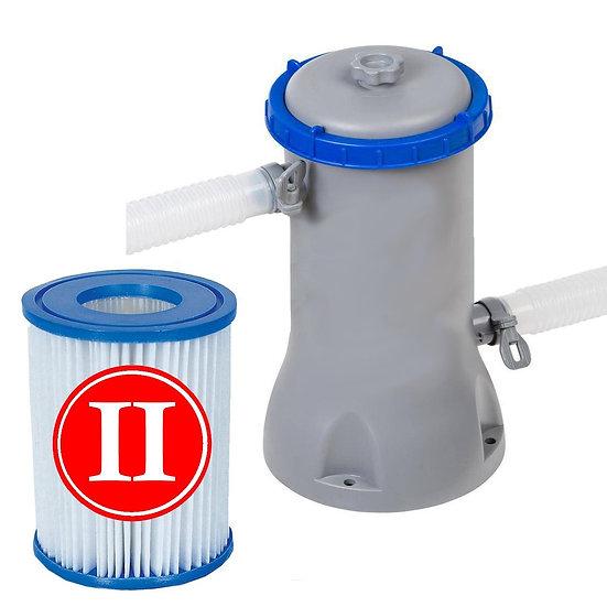 Bestway Flowclear Filter II Pump Swimming Pool,