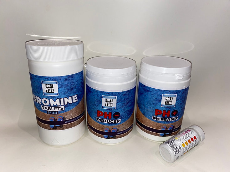 No.6 - Bromine Hot Tub Chemical Starter Kit