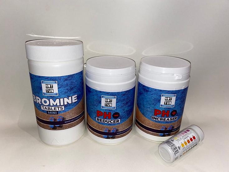 No.5 - Bromine Hot Tub Chemical Starter Kit