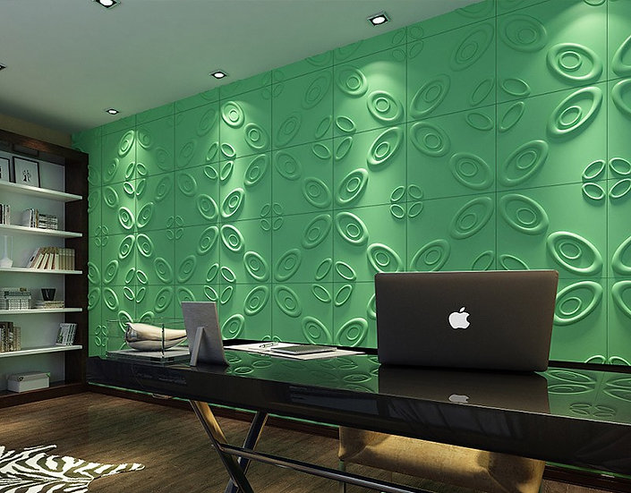 CURL UPWARDS 3D Wall panel