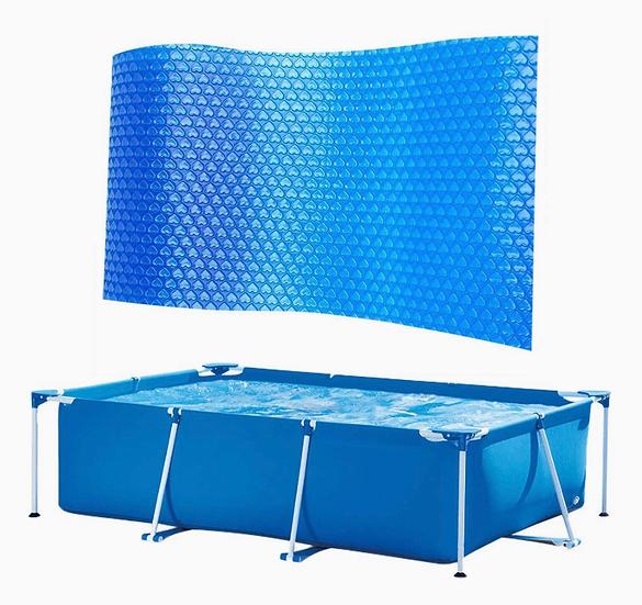 4 x 2 meters solar cover rectangular ( Metal Frame Pool )