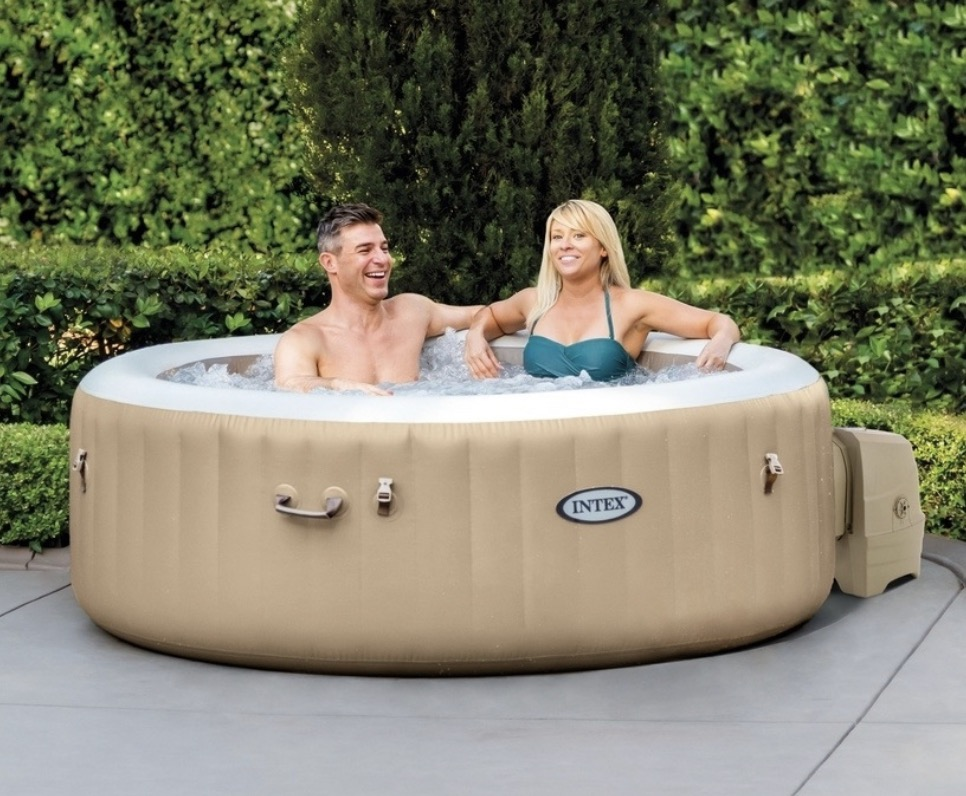 Intex pure spa brown 4 person