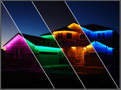 LED STRIPS RGB WATER PROOF OUTSIDE