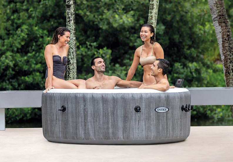 Intex Greywood Deluxe SET Pure spa 4 person hot tub