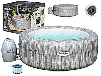 Lay z spa Cancun used hot tub