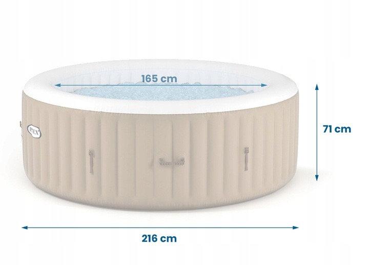 Intex 6 person pure spa replacement tub