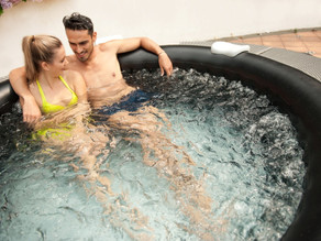 How to clean inflatable hot tub.