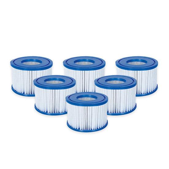 6x Lay Z Spa filter type VI cartridges