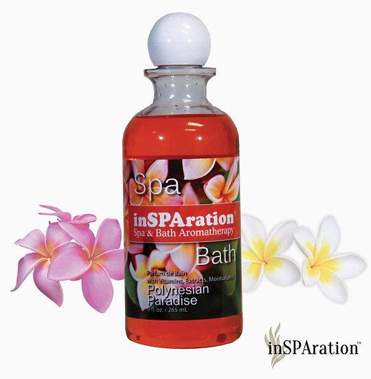 Polynesian Paradise inSPAration Spa and Bath Aromatherapy spa