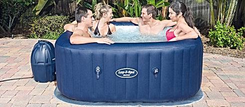 lay z spa hawaii used hot tub