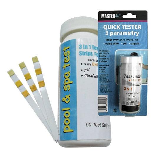 3 Parameters Chlorine Water Test Strips