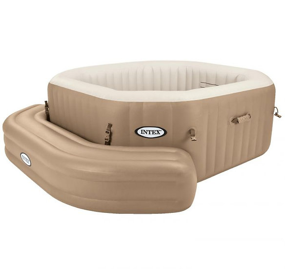 Intex Inflatable bench for octagonal spa.