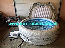 lay z spa used hot tub
