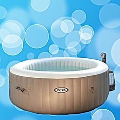 new product page for inflatable hot tub shop