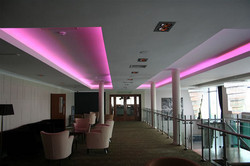 LED STRIPS 3D IN THE LOBBY