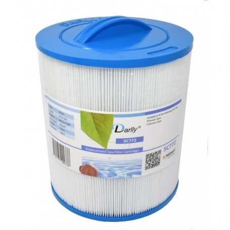 Hot tub filter Darlly sc772 / 23 x 25 x 5 cm
