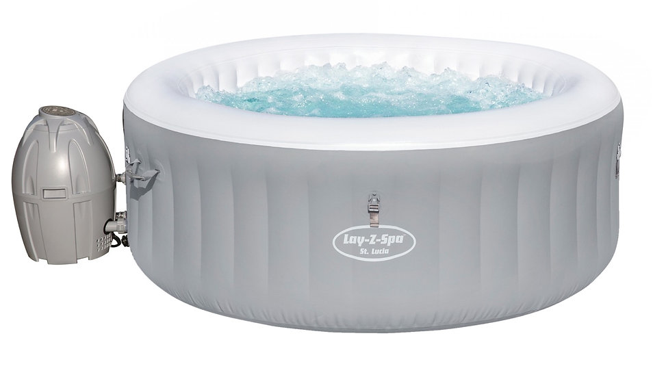 Lay Z Spa St.Lucia Inflatable Hot Tub 2-4 People