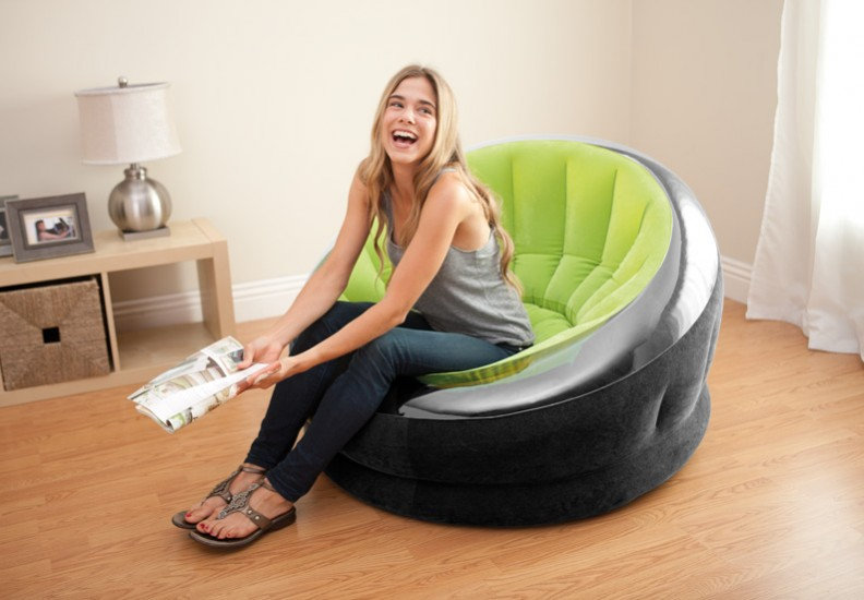 Intex empire inflatable seat Green Coulor