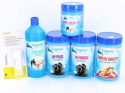 No.7- Complete Chlorine Swimming Pool Chemical Starter Kit