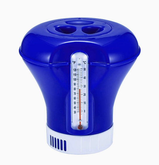 MAXI Floating Dispenser with Thermometer for 200 g tablets