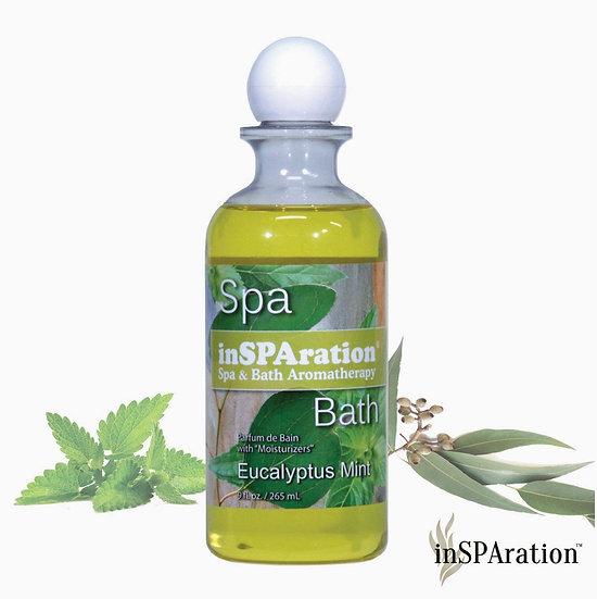 EUCALYPTUS MINT inSPAration for bathtub hot tub aromatherapy