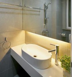 LED STRIP IN BATHROOM