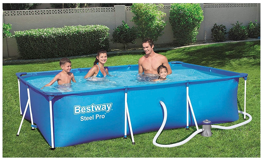 Bestway swimming pool 3 x 2 x 0,66 M + filtration pump + top cover