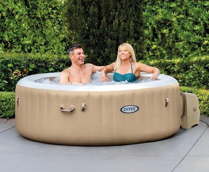 INTEX hot tub 4 Person Pure Spa Bubble Therapy