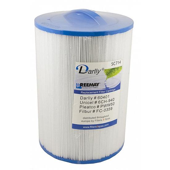 Hot tub filter SC714 20,4cm x 15cm x 3,8cm