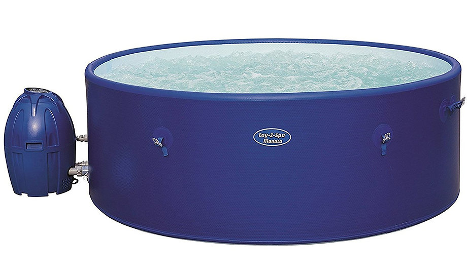 Lay-Z-Spa Monaco Inflatable Hot Tub (6-8 Adults)