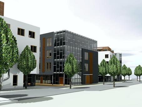 Nytt nærings-og boligbygg på Orkanger sentrum