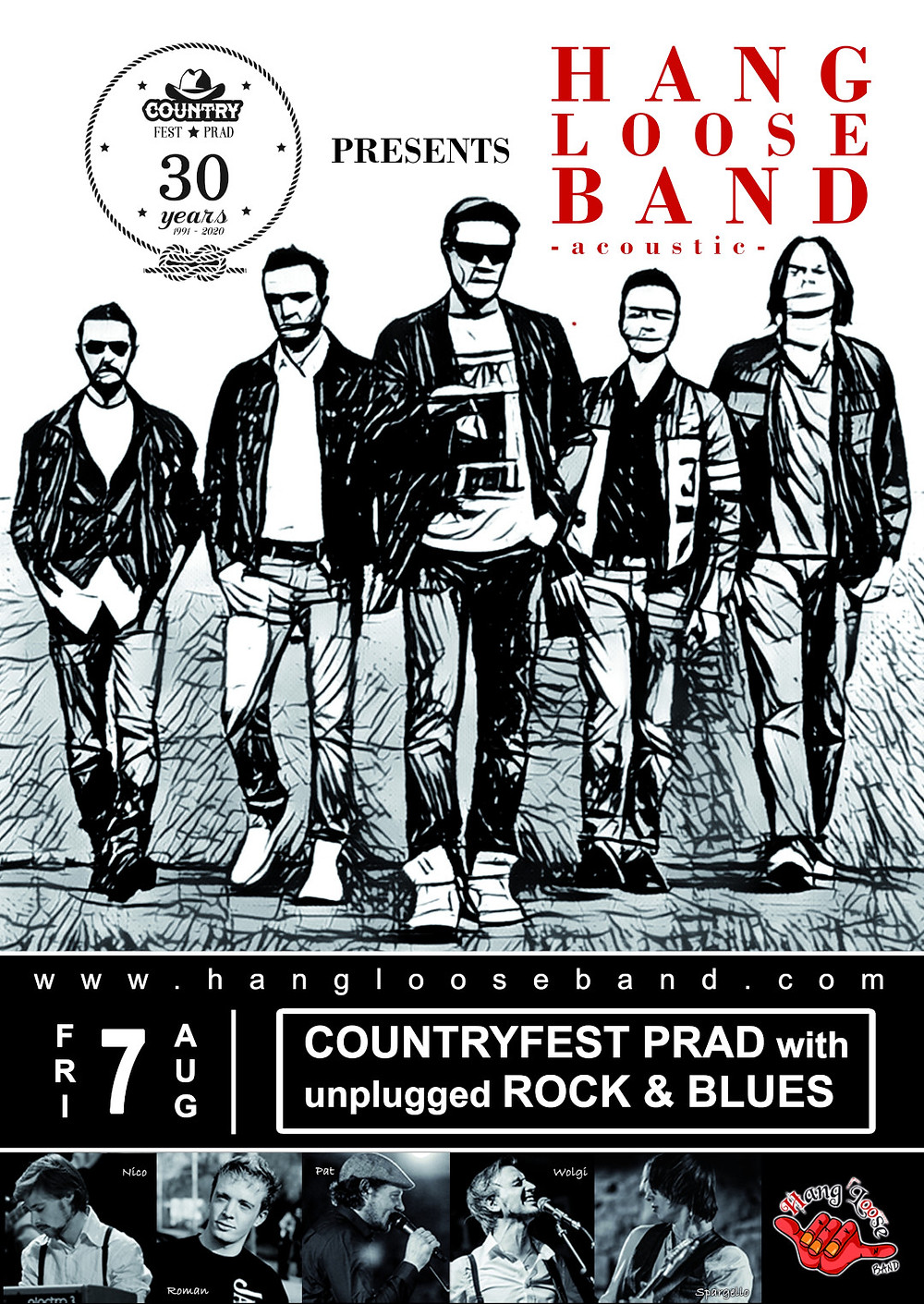 Hang Loose Band @ Countryfest Prad 2020