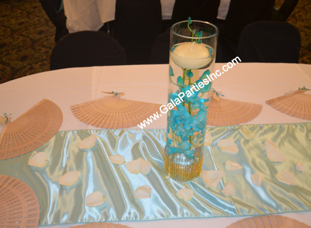 DIY Submerged Flower Centerpieces