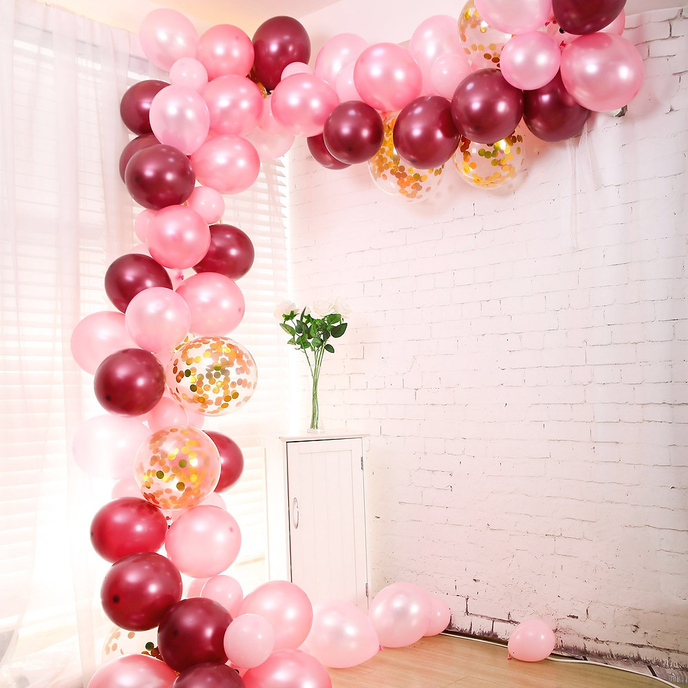 110 Pack DIY Balloon Garland Kit, Balloon Arch Party Decorations