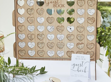 25 Wedding Guest Books Alternatives