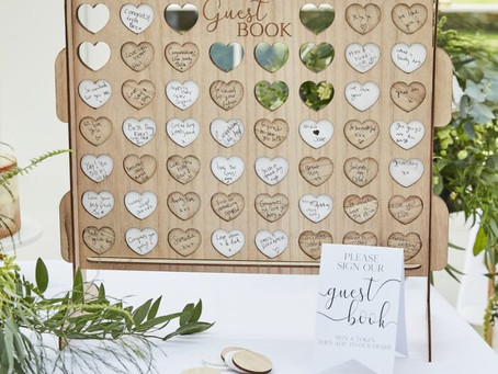 25 Wedding Guest Books Alternatives