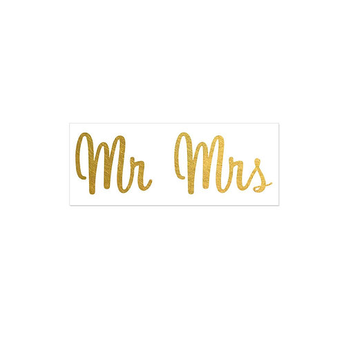 2 PACK Mr and Mrs