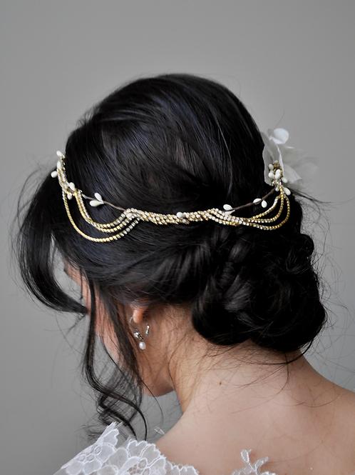 Nadine Hair Wreath