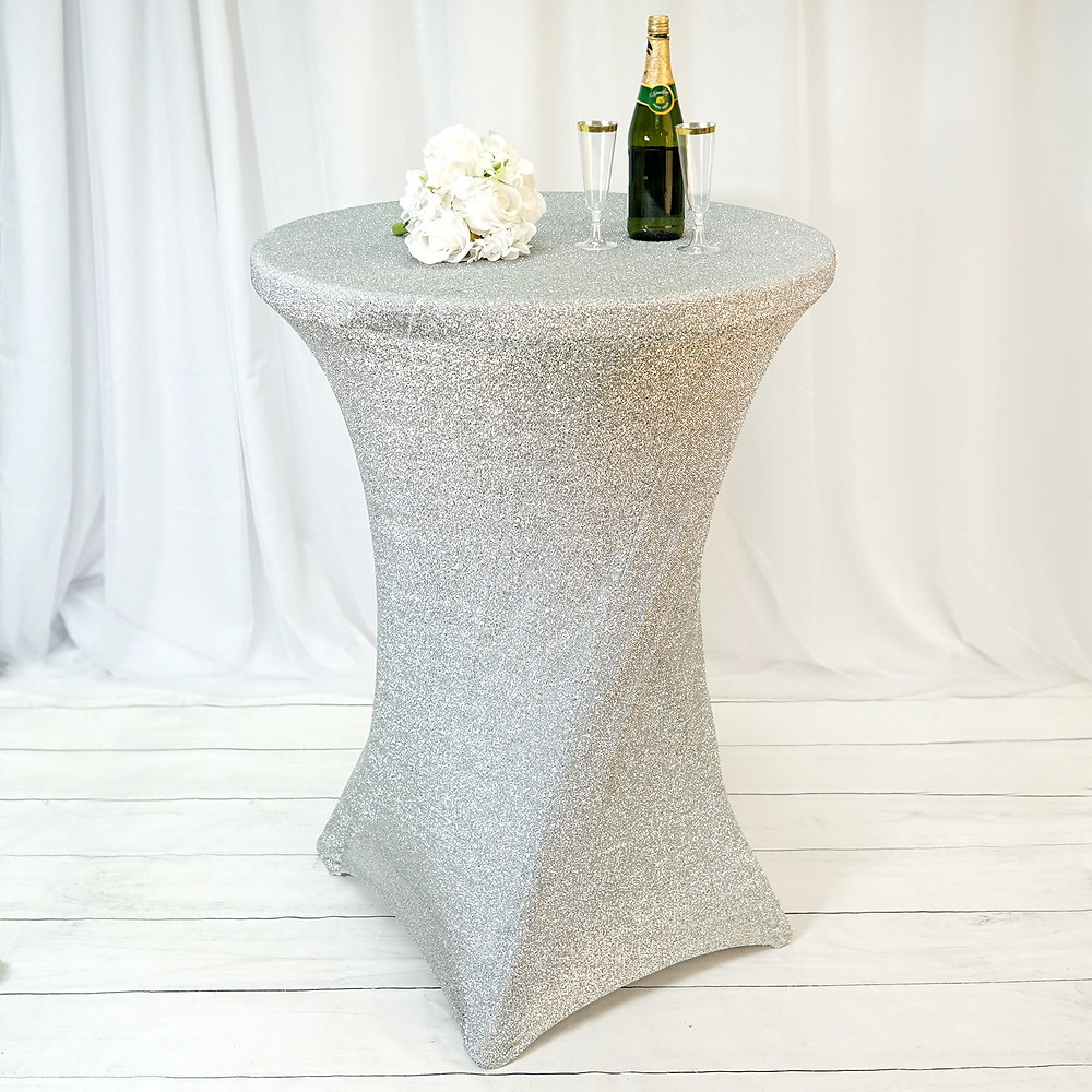 Create a perfect style by complementing these with spandex chair covers and chair bands in cocktail parties, wedding, showers, banquet events, corporate affairs, quinceanera parties etc. These heavy duty tablecloths feature stain resistant and wrinkle resistant properties that make them a perfect choice for indoor and outdoor events, holiday parties, weddings and other festive celebrations.