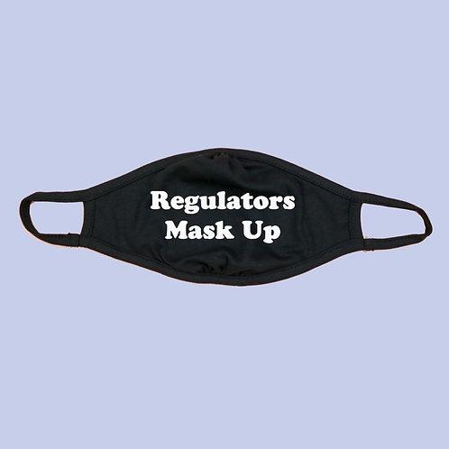 Regulators Mask Up Adult Eco Face Mask