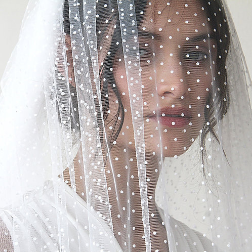 Wedding Dots Tulle Veil  #4019