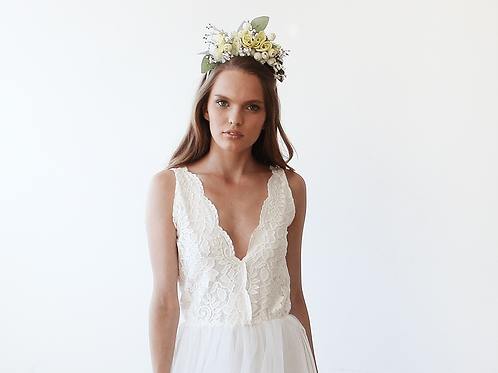 Bridal Flower Hair Accessory 4010