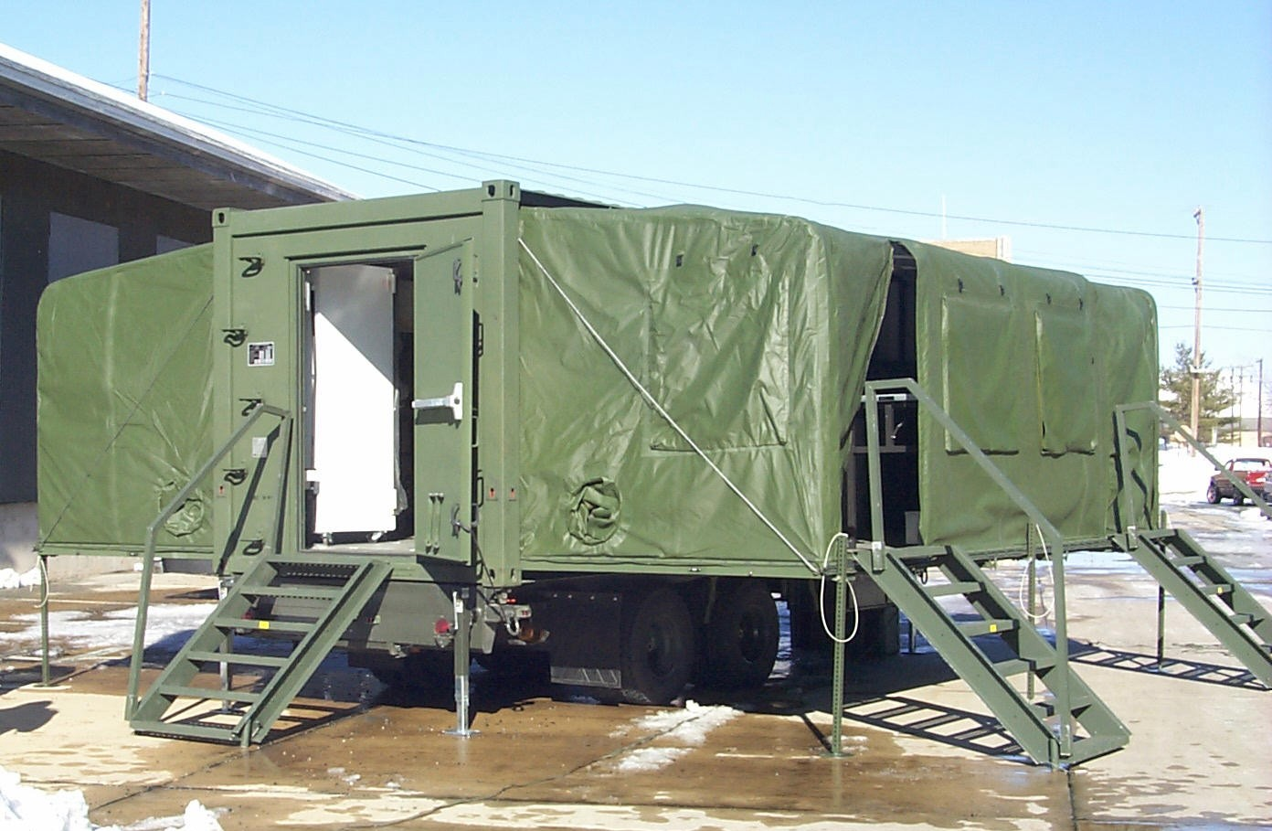 Dept. of Army - Containerized Kitchen Trailer