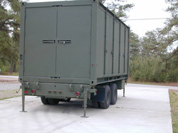 Dept. of Army - Containerized Kitchen Trailer 2