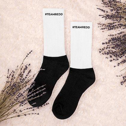 #TEAMREDD Socks