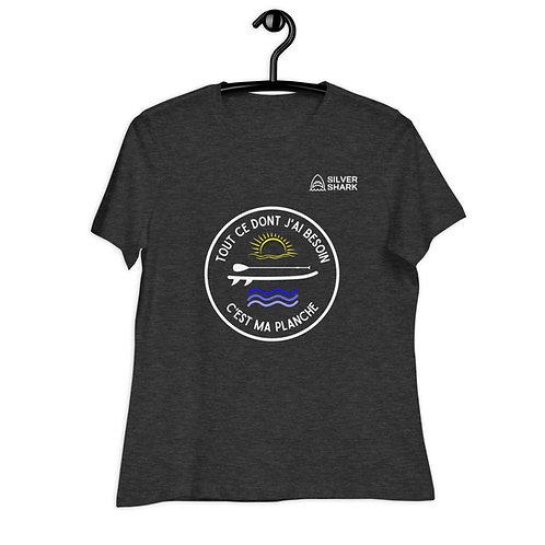Tout ce dont j'ai besoin c'est ma planche - T-shirt