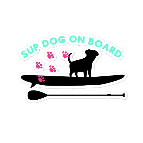 Sup Dog Car Sticker