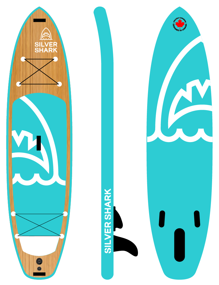 Inflatable paddle board 11 ft touring su