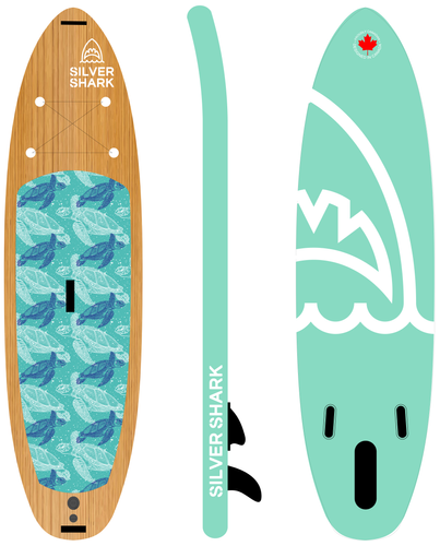 Yoga Paddle Board Inflatable Isup Yoga T
