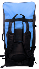 Inflatable paddle board backpack silver